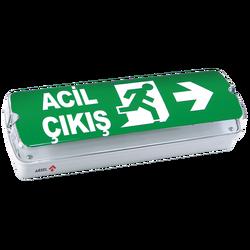Arsel - Arsel Acil Yönlendirme Armatürü 20XF LED 180dk. AEB-03113-L
