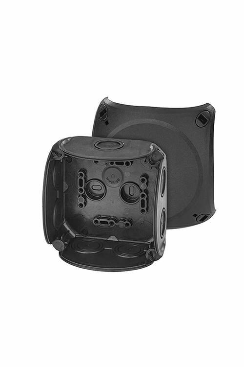Hensel Siyah Termoplastik Buat IP66 104x104x70 DK 0400 B