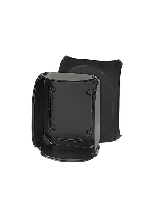 Hensel Siyah Termoplastik Buat IP66/IP67/IP69 255x205x112 KF 2500 C