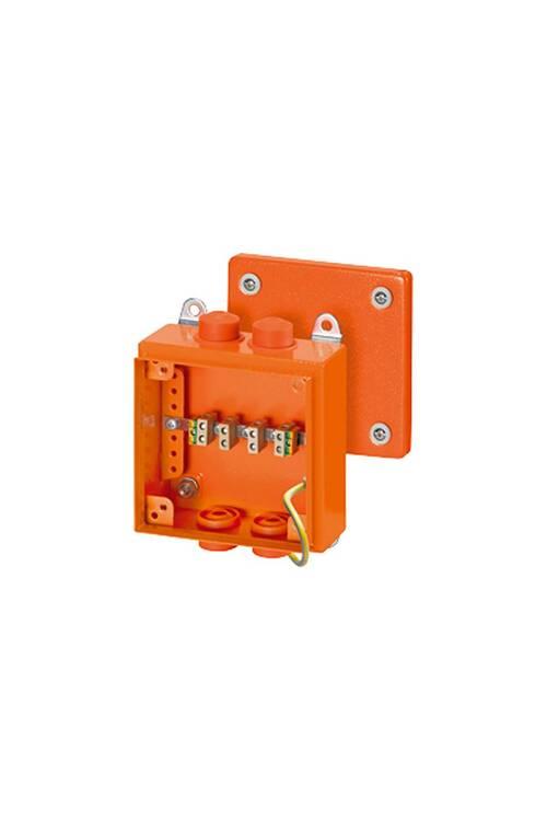 Hensel Turuncu Yangın Buatı IP65/IP66 150x150x80 FK 9025