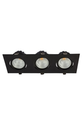 PELSAN - Pelsan Lora Sıva Altı 3x20W 4000K COB LED Spot Armatür IP20 110559