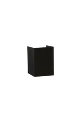 PELSAN - Pelsan Lorca 2xG10 Duylu Siyah LED Duvar Apliği IP20 109765