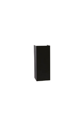 PELSAN - Pelsan Rodin 2xG10 Duylu Siyah LED Duvar Apliği IP20 109764