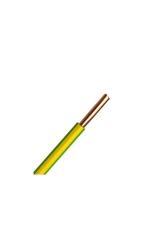 Prysmian - Prysmian 10mm Sarı Yeşil Nyaf Yanmaz Halogen Free Topraklama Kablo H07Z1-U