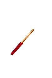 PRYSMIAN - Prysmian 1mm Kırmızı Nya Tek Damarlı Kablo H05V-U
