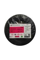 PRYSMIAN - Prysmian 1mm Siyah Nya Tek Damarlı Kablo H05V-U