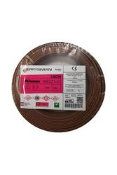 PRYSMIAN - Prysmian 2,5mm Kahverengi Nya Yanmaz Halogen Free Kablo H07Z1-U