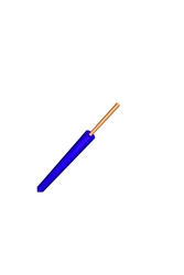 PRYSMIAN - Prysmian 2,5mm Mavi Nya Yanmaz Halogen Free Kablo H07Z1-U