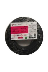 PRYSMIAN - Prysmian 2,5mm Siyah Nyaf Çok Telli Kablo H07V-K