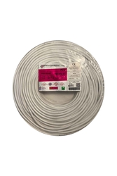 Prysmian - Prysmian 2x1,5mm TTR Beyaz Kablo H05VV-F