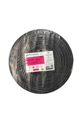 PRYSMIAN - Prysmian 3x0,75mm TTR Siyah Kablo H05VV-F