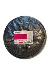 Prysmian - Prysmian 3x1mm TTR Siyah Kablo H05VV-F
