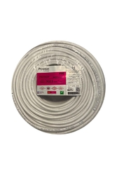 Prysmian - Prysmian 3x2,5mm TTR Beyaz Kablo H05VV-F