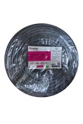 Prysmian - Prysmian 3x2,5mm TTR Siyah Kablo H05VV-F