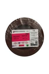 PRYSMIAN - Prysmian 4mm Kahverengi Nyaf Çok Telli Kablo H07V-K