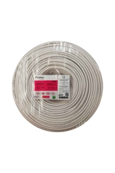 Prysmian - Prysmian 4x1mm TTR Beyaz Kablo H05VV-F