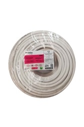 PRYSMIAN - Prysmian 4x4mm TTR Beyaz Kablo H05VV-F