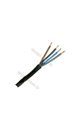 PRYSMIAN - Prysmian 4x4mm TTR Siyah Kablo H05VV-F