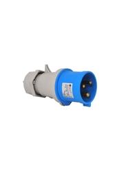 T-Plast - Tplast Düz Fiş 3X16A IP44 3120 301 0901