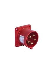 T-Plast - Tplast Makine Fişi (Düz) 5x32A IP44 3107 320 1675
